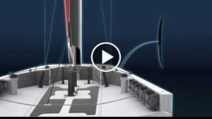 Next AC75 class race boat concept with foil for America's Cup 2021 by Emirates Team New Zealand !